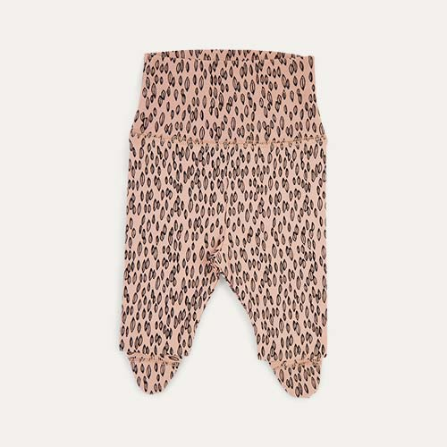Pink Seed Print Gro Company Footed Legging