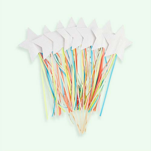 Multi Meri Meri Sparkly Wands - 8 Pack