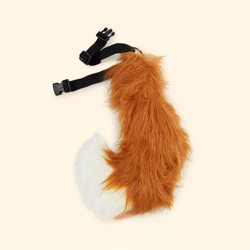 Brown Tell Tails Fluffers Fox Tail