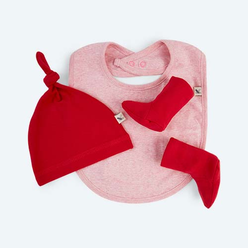 Pink KIDLY's Own New Baby Accessories Set