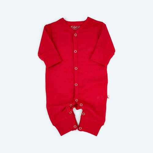 Red KIDLY's Own New Baby All-In-One
