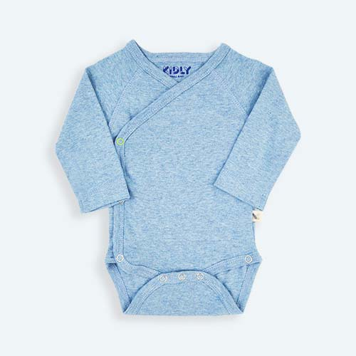 Blue KIDLY's Own New Baby Bodysuit