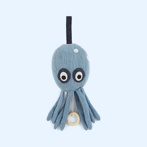 Blue Ferm Living Octopus Musical Mobile