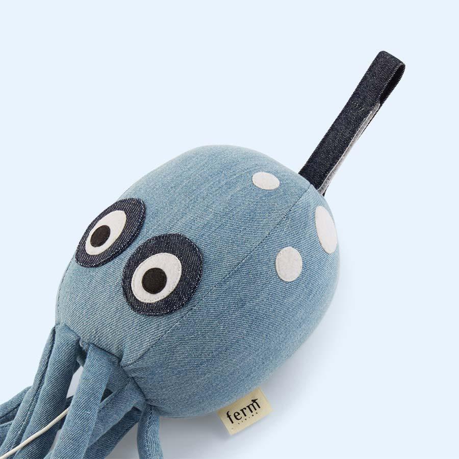 Blue Ferm Living Octopus Musical Mobile