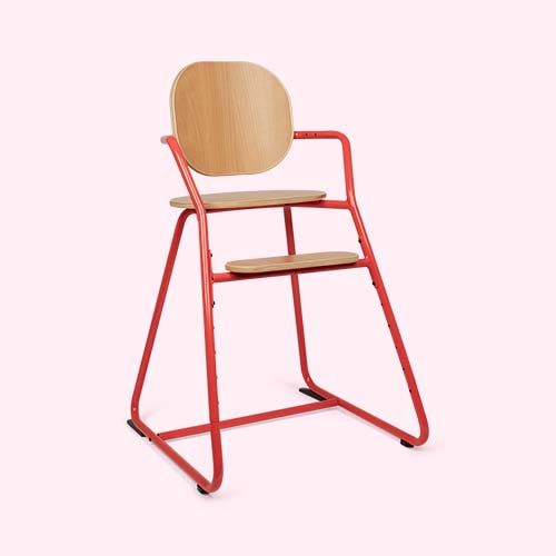 Red Charlie Crane Tibu Highchair