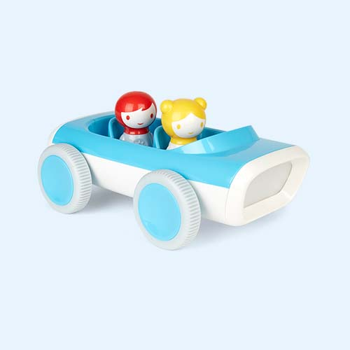 Blue Kid O Myland Light & Sound Race Car