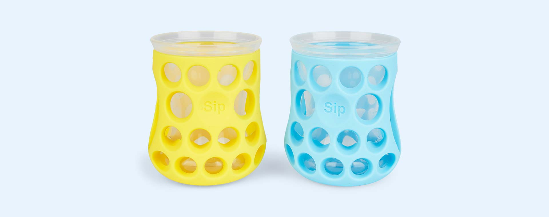 Sunshine/Sky Cognikids Natural Drinking Cups - 2 Pack