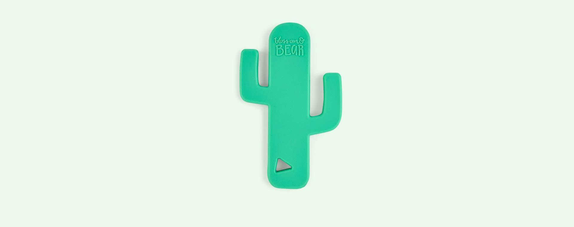 Green Blossom & Bear Cactus Teether