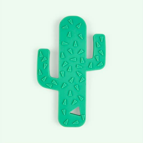 Green Blossom & Bear Cactus Teether