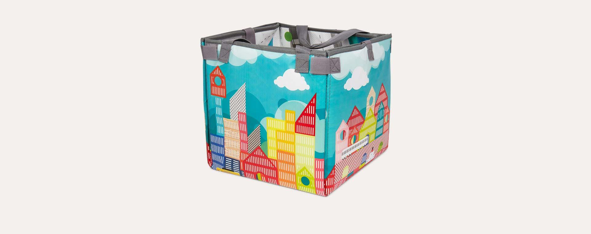 Archi Janod Kubix Play Cubes & Mat - 70 pieces