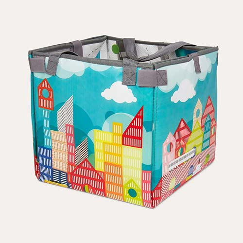Archi Janod Kubix Play Cubes & Mat - 70 pieces