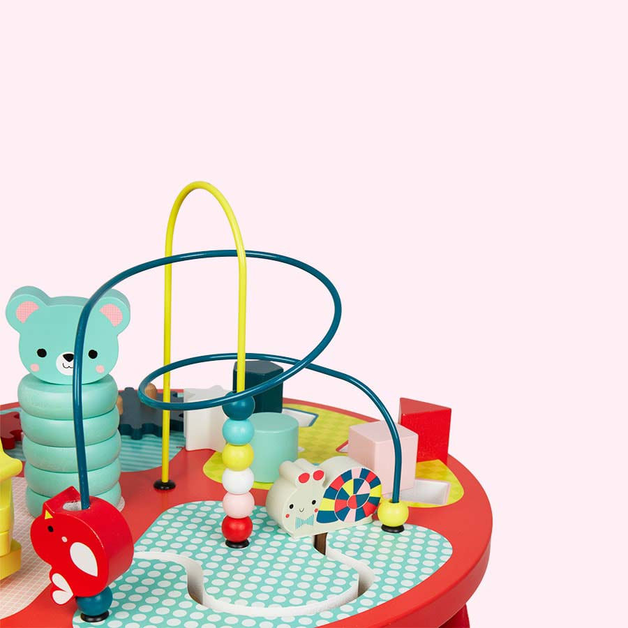 Red Janod Baby Forest Activity Table