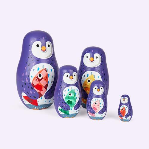Purple Janod Zigolos Russian Dolls