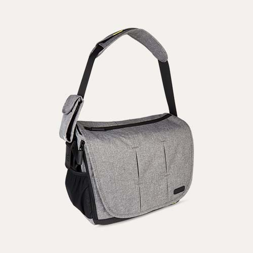 Grey BabaBing Day Tripper City Deluxe Changing Bag