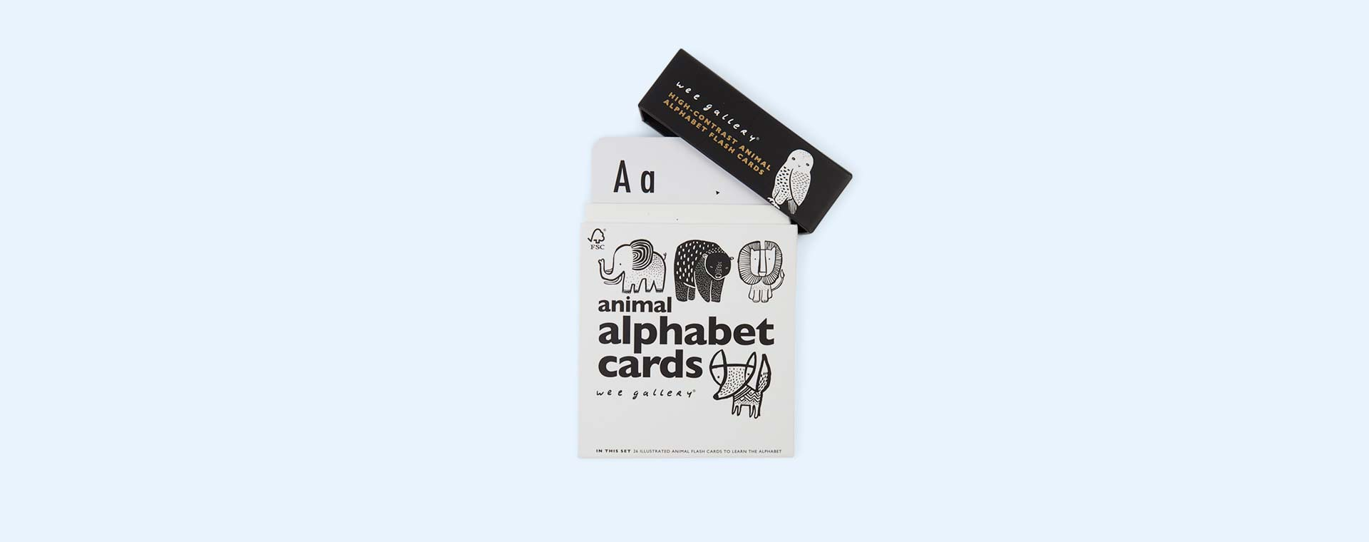 Animals Wee Gallery Animal Alphabet Cards