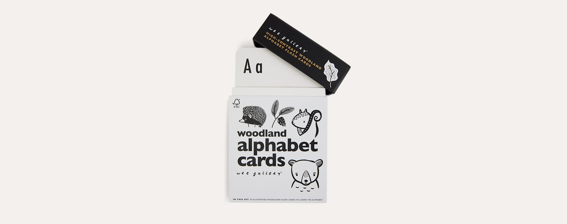Woodland Wee Gallery Animal Alphabet Cards