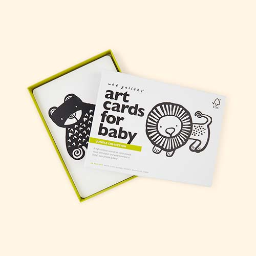 Jungle Wee Gallery Art Cards for Baby