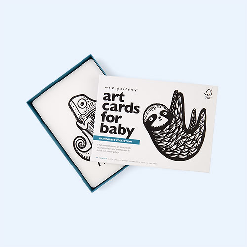 Rainforest Wee Gallery Art Cards for Baby