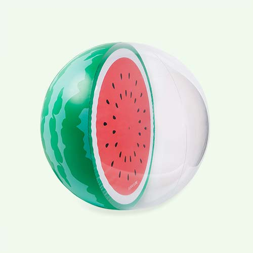 Green Sunnylife Watermelon Beach Ball