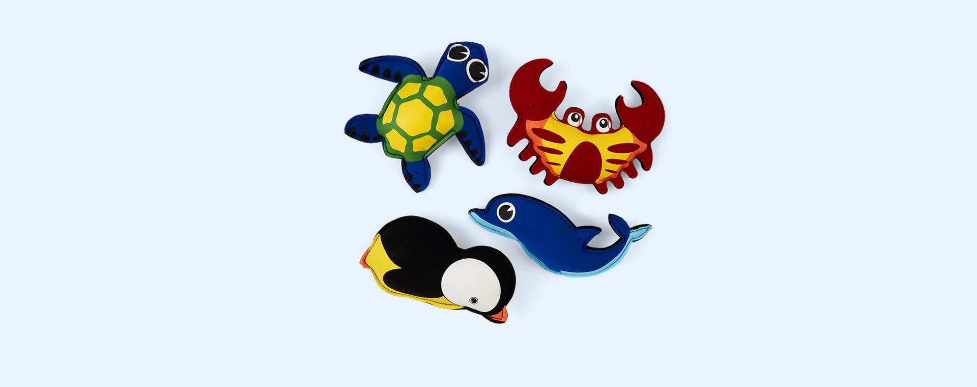 Multi SwimFin Funky Floaties Swim Toys