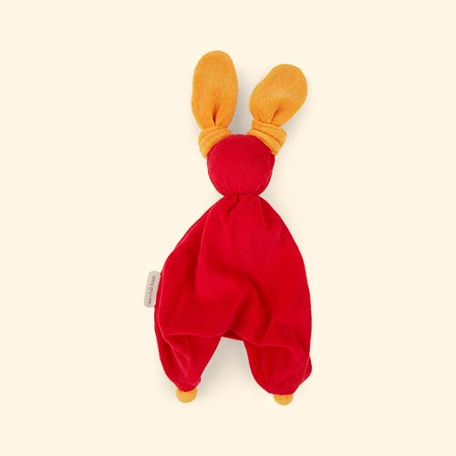 Red Peppa Floppy Organic Soother