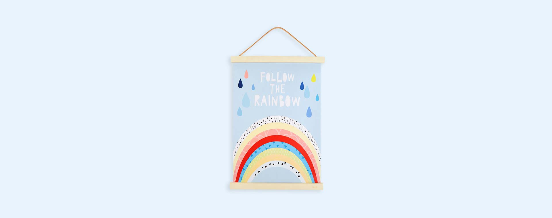 Blue Mini Learners Follow The Rainbow Poster