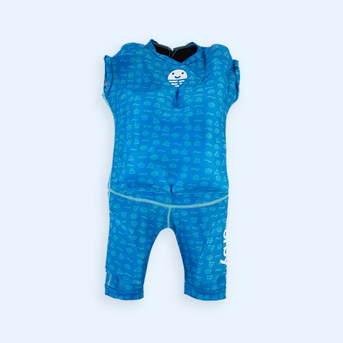 Blue Orby Jetsuit