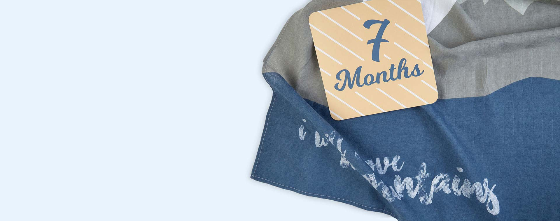 Mountains Lulujo Milestone Cards & Blanket Set
