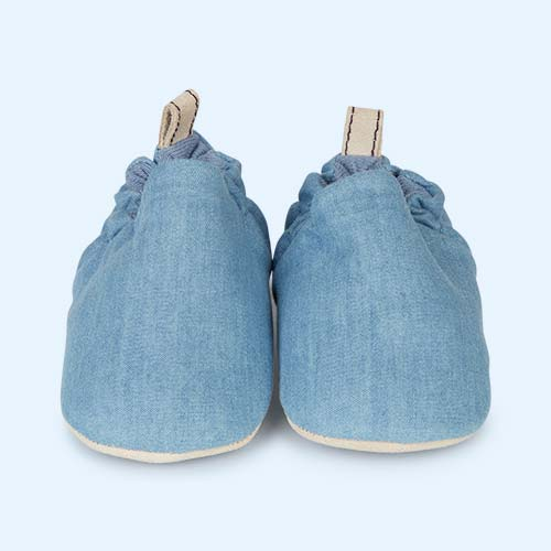 Faded Blue Poco Nido Canvas Mini Shoes