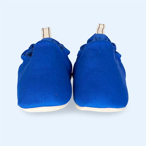 Mid Blue Poco Nido Canvas Mini Shoes