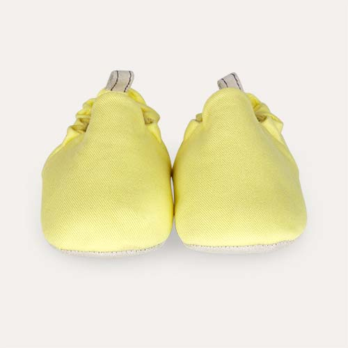 Custard Yellow Poco Nido Canvas Mini Shoes