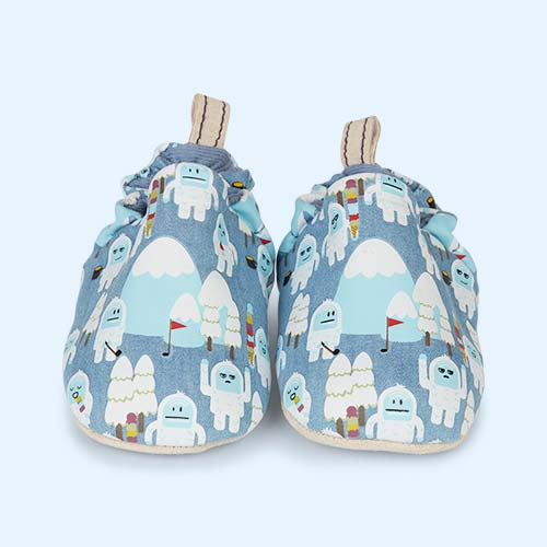 Yeti Poco Nido Printed Mini Shoes