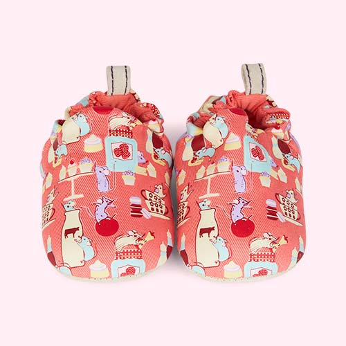 Mice Poco Nido Printed Mini Shoes