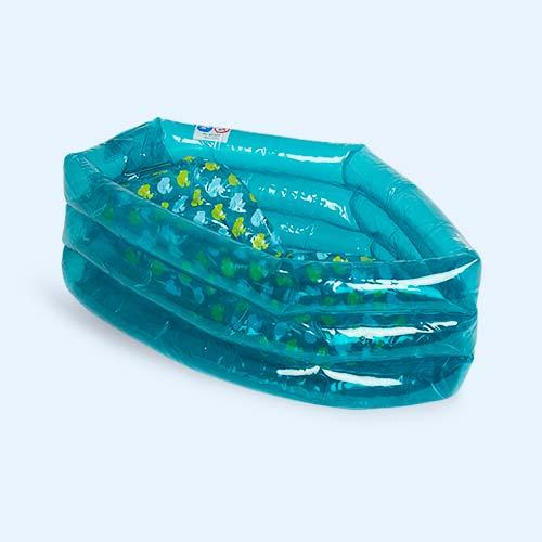 Blue Babymoov Inflatable Travel Bathtub