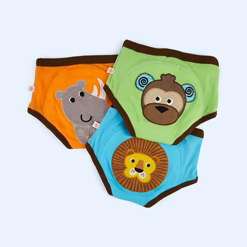 Safari Boys Zoocchini Training Pants - 3 Pack