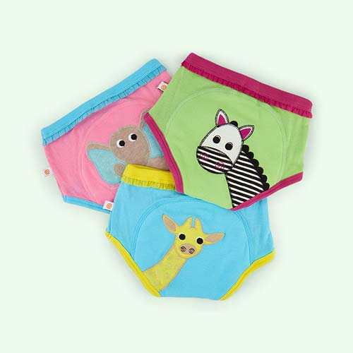 Safari Girls Zoocchini Training Pants - 3 Pack