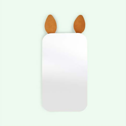 Clear Ferm Living Rabbit Mirror