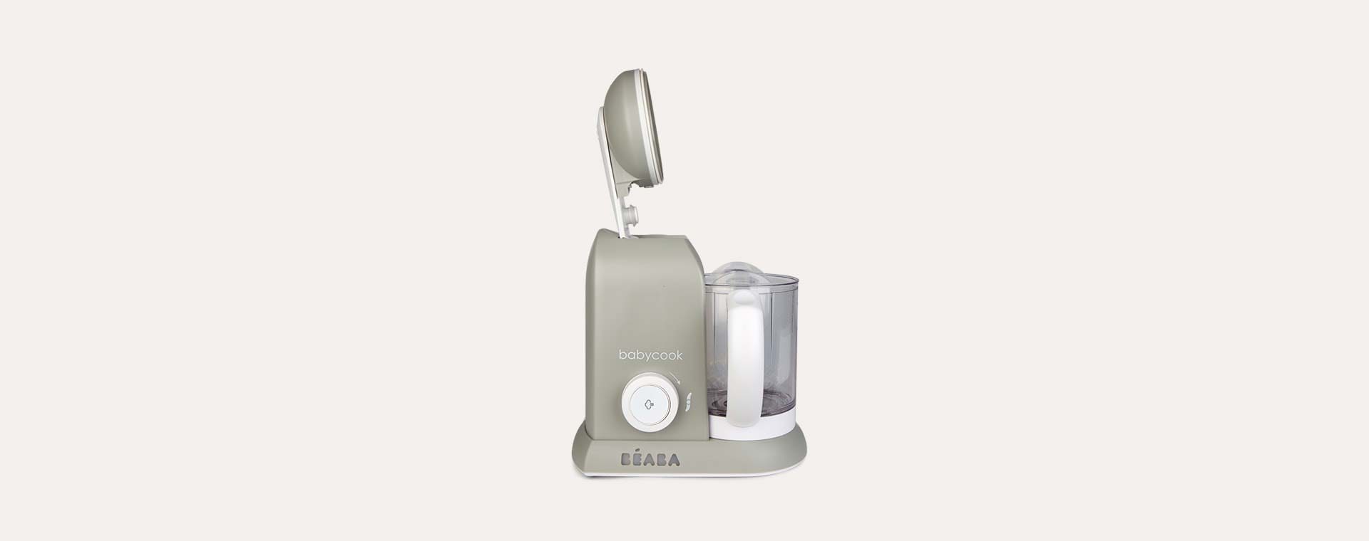 Grey Beaba Babycook 4-in-1 Food Processor