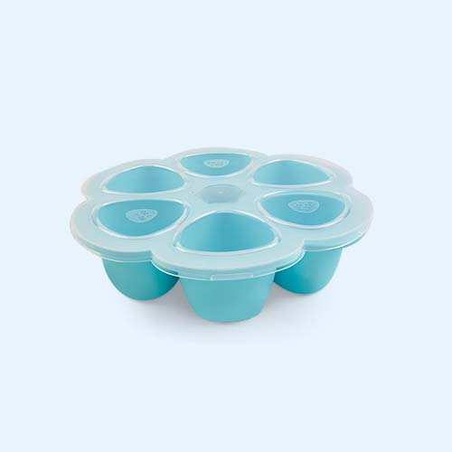 Blue Beaba Multi Portion Food Containers - 6 x 90ml