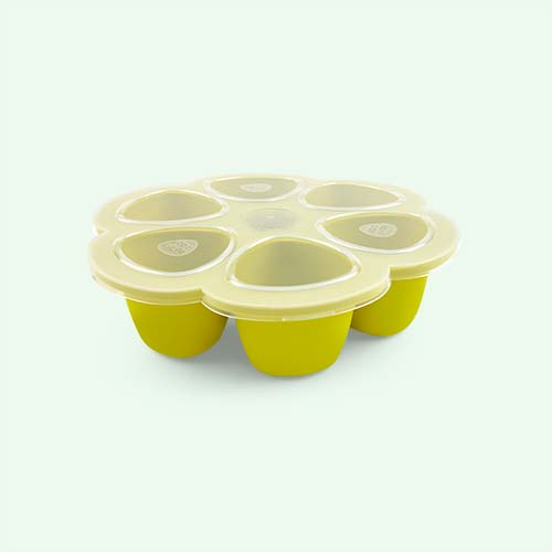 Neon Beaba Multi Portion Food Containers - 6 x 90ml