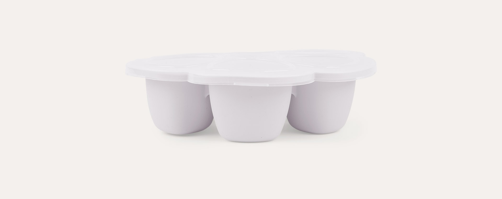 Light Mist Beaba Multi Portion Food Containers - 6 x 90ml