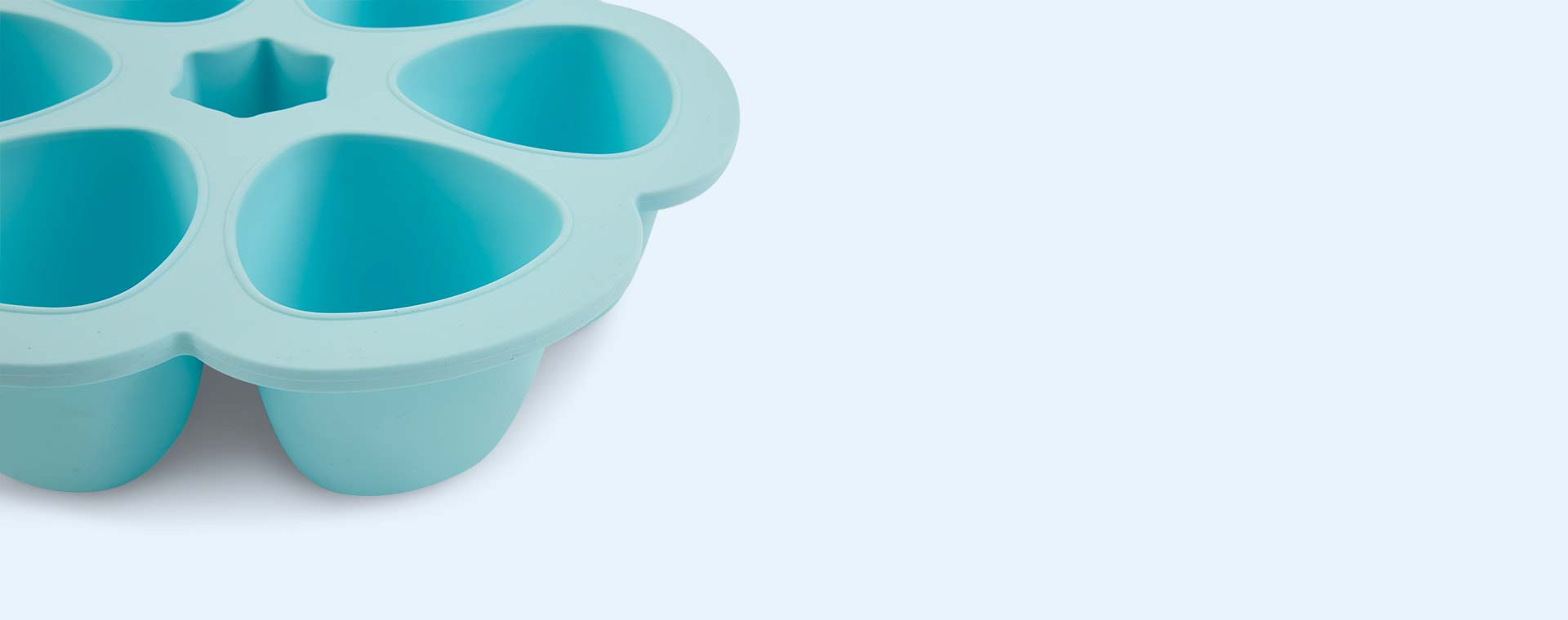 Blue Beaba Multi Portion Food Containers - 6 x 150ml