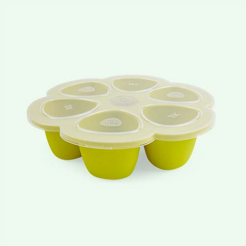 Neon Beaba Multi Portion Food Containers - 6 x 150ml