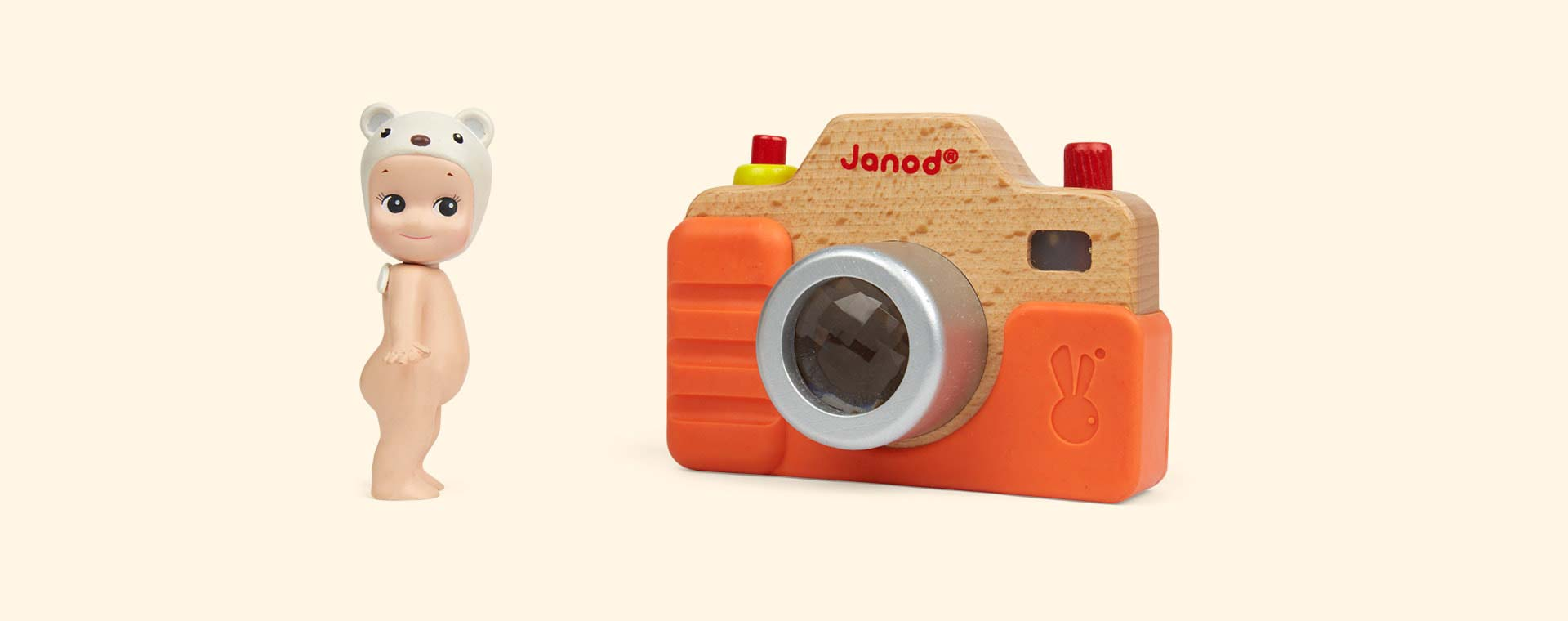 Multi Janod Wooden Sound Camera
