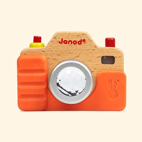 Multi Janod Wooden Sound Camera