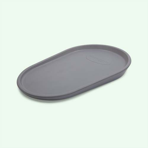 Grey Shnuggle Squishy Changing Mat