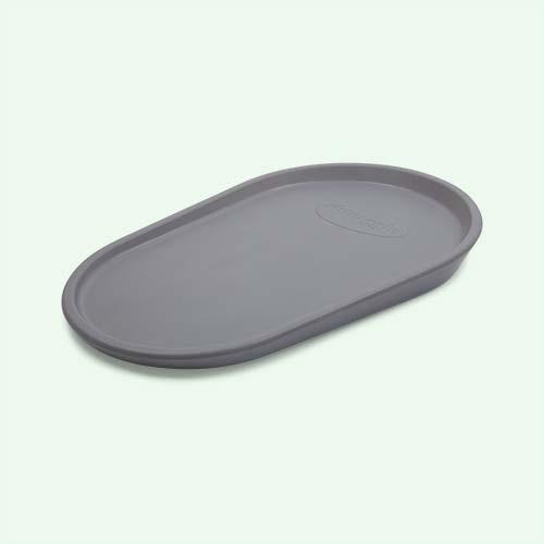 Grey Shnuggle Squishy Changing Mat