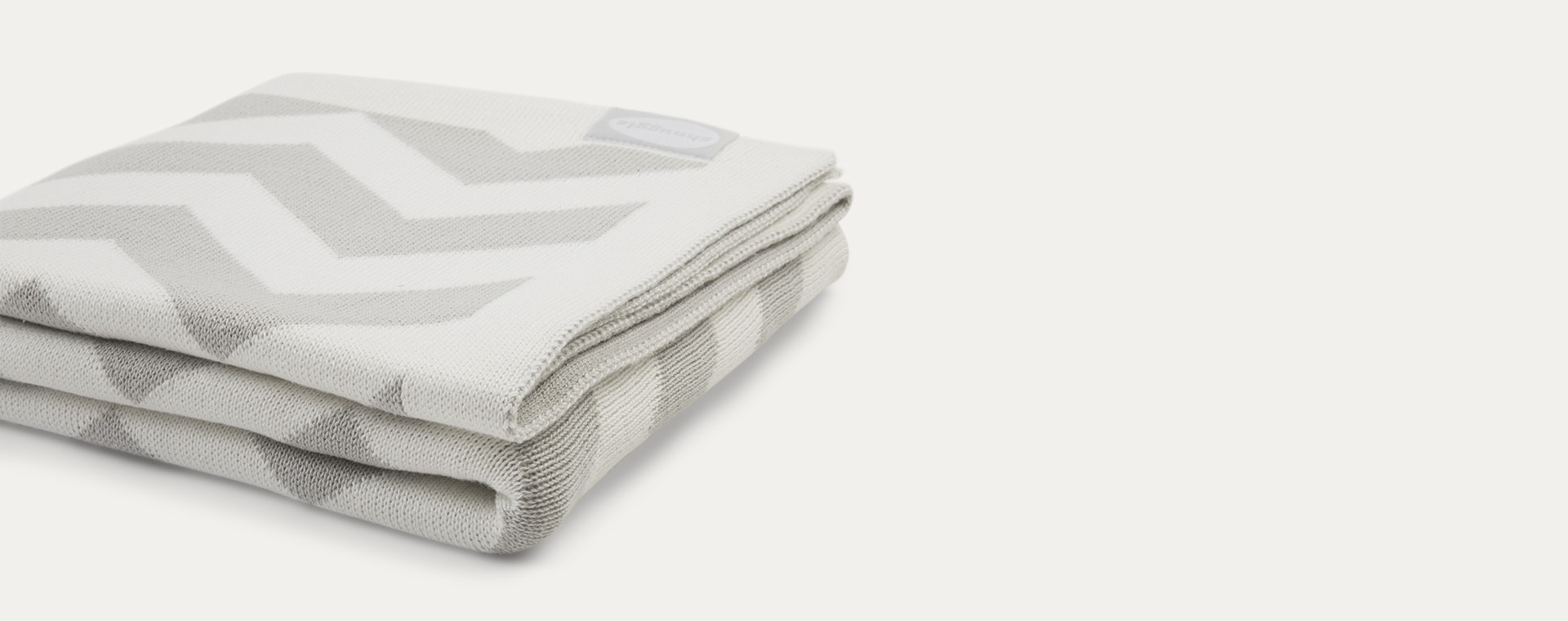 Grey Shnuggle Cosy Knit Blanket