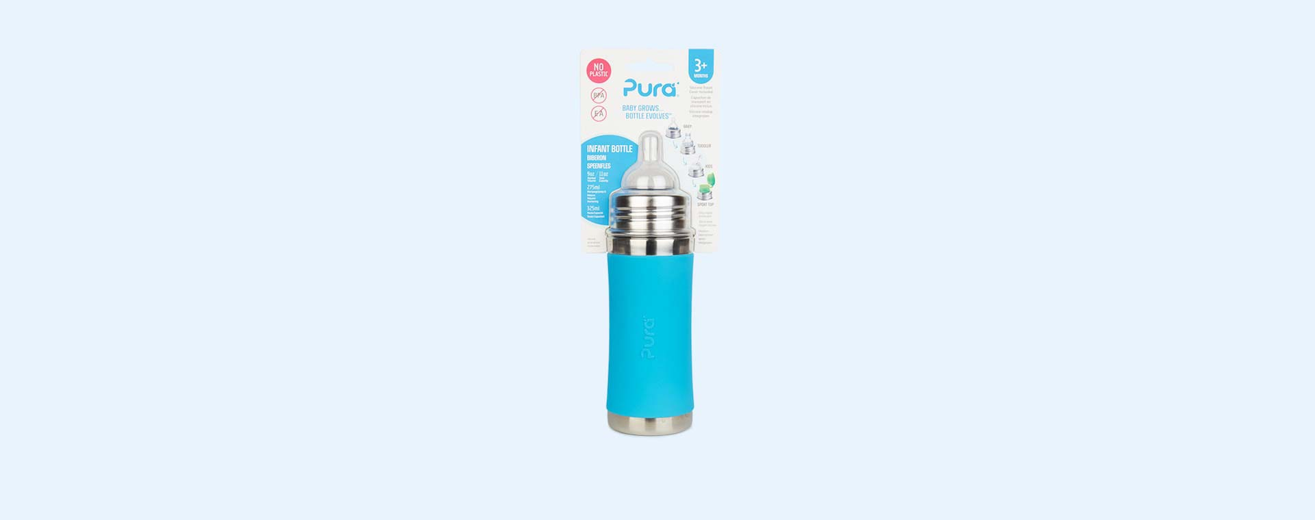 Aqua Pura 11oz Infant Bottle