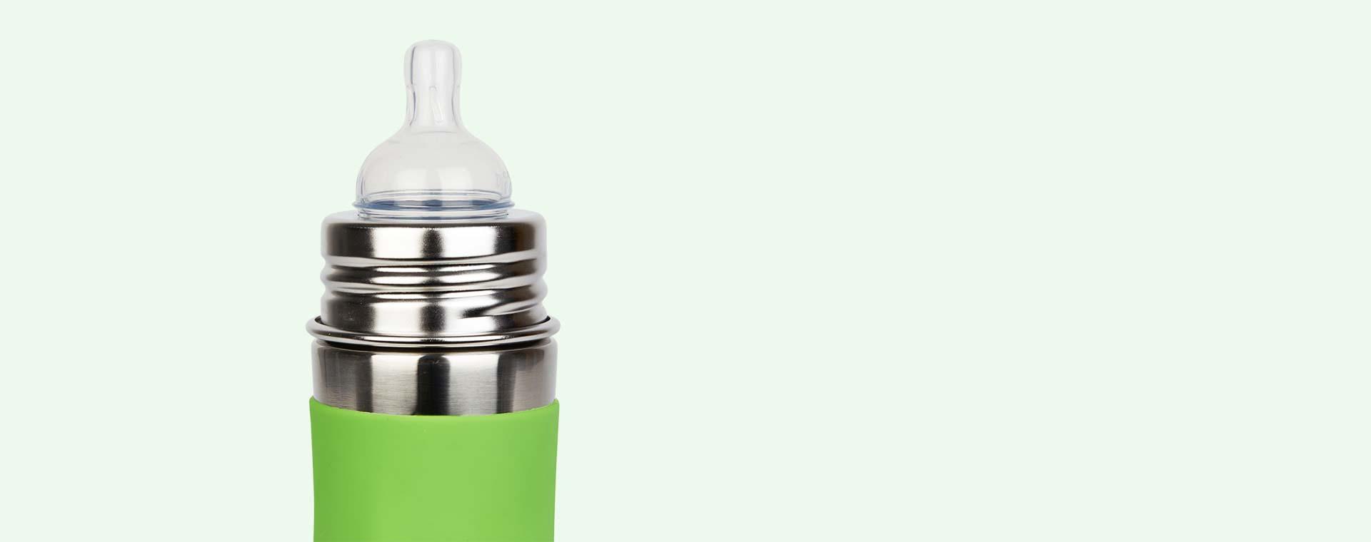 Green Pura 11oz Infant Bottle